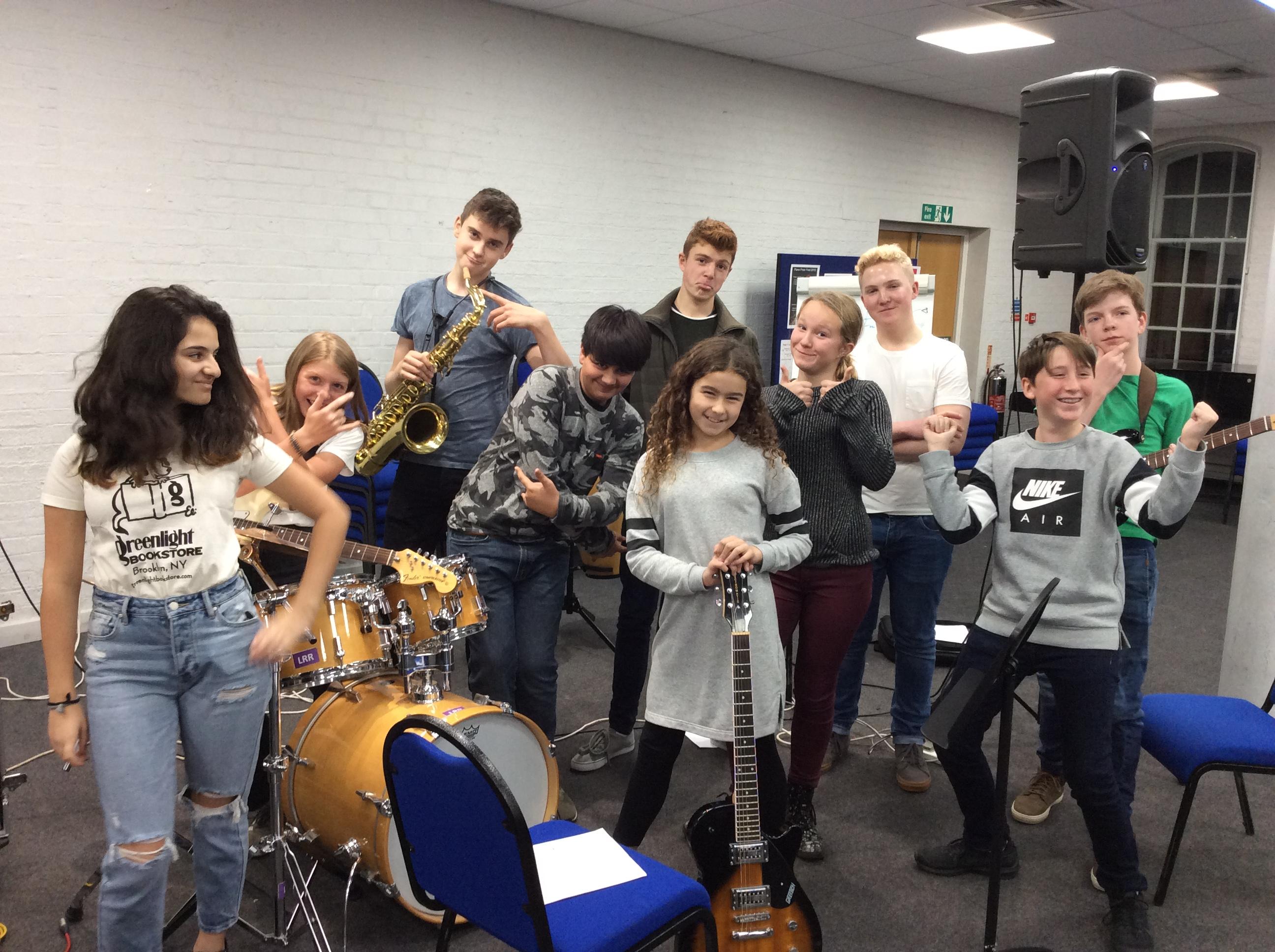 MyBand Monthly Music School Autumn Term 2018